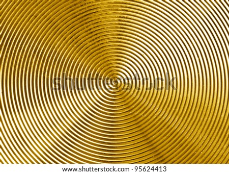 gold metal texture for background. - stock photo