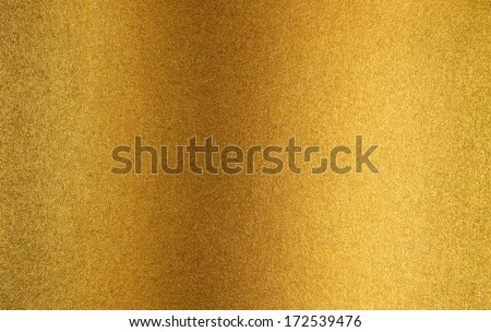 Gold metallized paper background