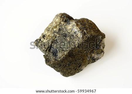 Gold ore - stock photo