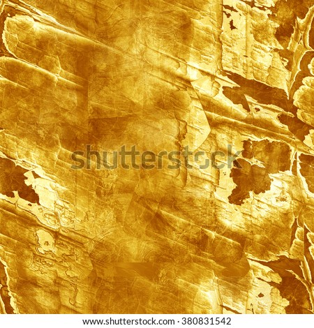 Gold ore. Seamless texture - stock photo