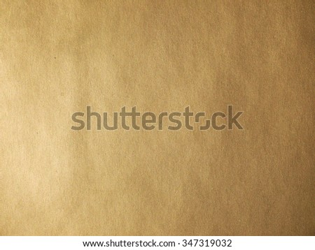 Gold paper texture or background - stock photo