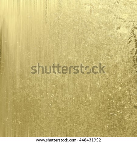 gold scratched texture old background - stock photo