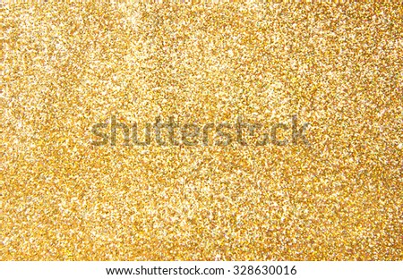 gold sequinned background texture - stock photo