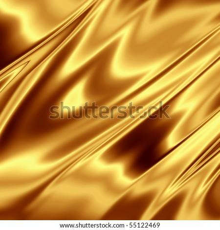 Gold shiny texture - stock photo