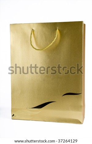 Gold Shopping Bag Stock Images, Royalty-Free Images & Vectors ...