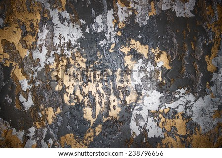 gold silver background - stock photo