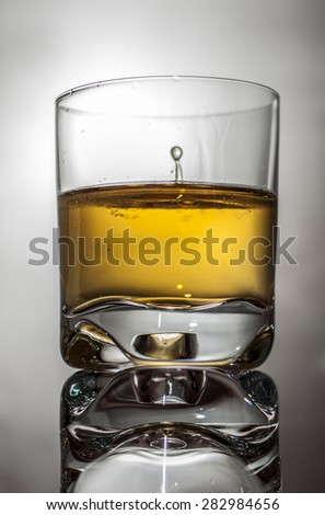 Gold whiskey