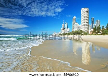 Goldcoast, Queensland, Australia - stock photo