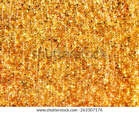 golden abstract background close up - stock photo