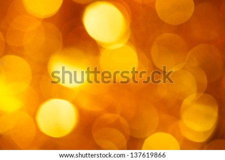 golden and yellow circle background - stock photo
