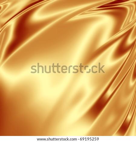 Golden backdrop - stock photo