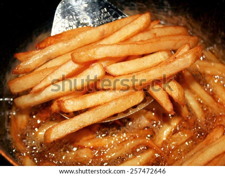how to cook fries in a deep fryer