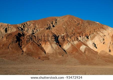 Golden Canyon, Death Valley National Park  California, USA. - stock photo