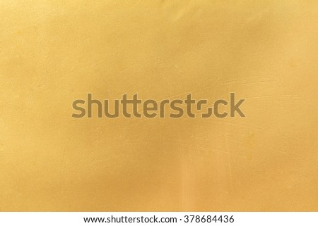 Golden construction foam background - stock photo