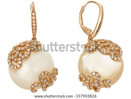 Pearl Earrings Stock Images Royalty Free Images Amp Vectors