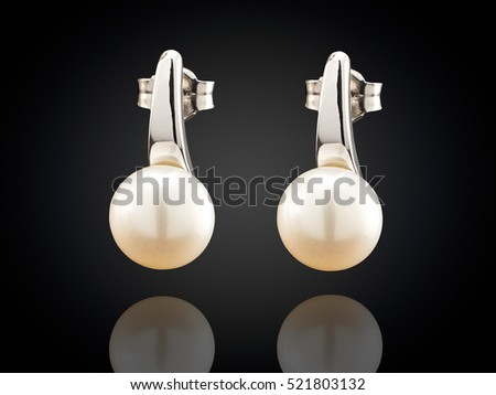 Pearl Earrings Stock Images, Royalty-Free Images & Vectors ...