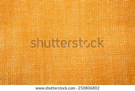 Golden fabric background - stock photo