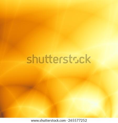 Golden flow nice elegant wallpaper pattern - stock photo
