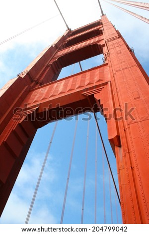 Golden Gate Bridge Pfeiler