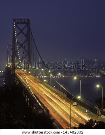 Golden Gate Bridge San Francisco Bay - stock photo