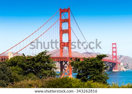Golden Gate Bridge, San Francisco, California, United States of America