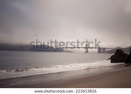 Golden Gate Bridge - San Francisco, USA - stock photo