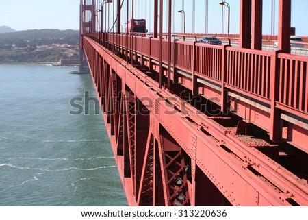 Golden Gate Bridge stock photo - stock photo