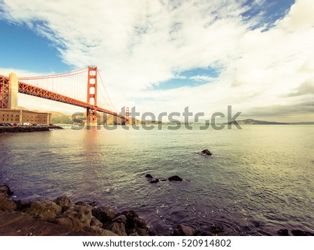 Golden Gate in San Francisco, USA