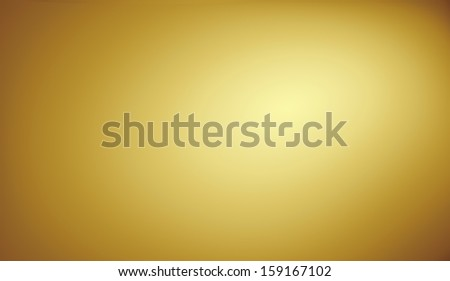 golden gradient (copy space) - stock photo