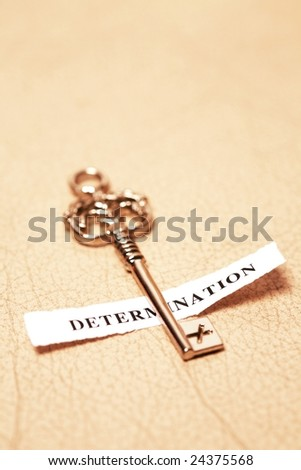 golden key for determination
