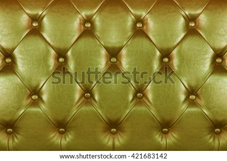 Golden leather texture.