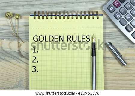 the golden rule essay