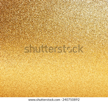 golden shiny lights. abstract vibrant background - stock photo