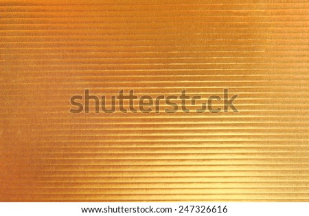golden stripped texture background - stock photo