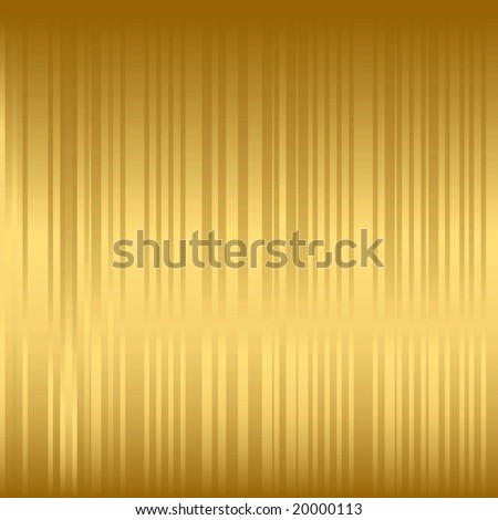 golden stripy background, would make a nice Christmas wrapping paper or background, vector available in my portfolio - stock photo
