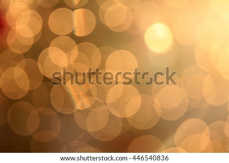 golden sunset  bokeh colors, abstract background