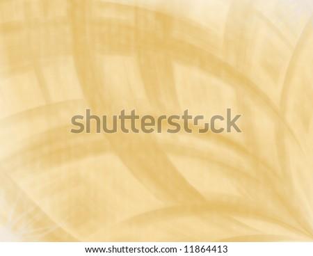 Golden swirls abstract background - stock photo