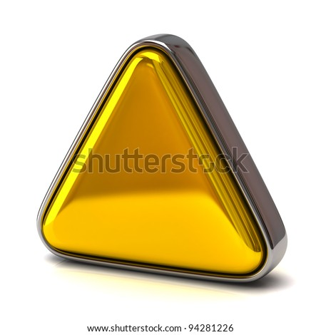 Golden triangle - stock photo
