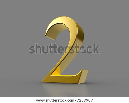 Golden Two - stock photo