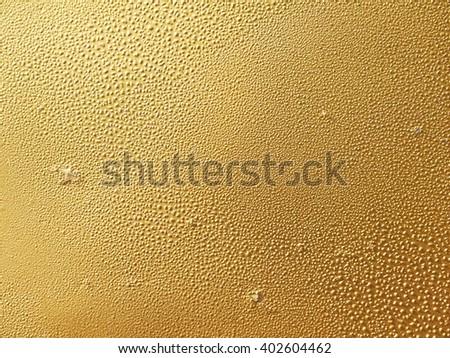 Golden wall texture - stock photo