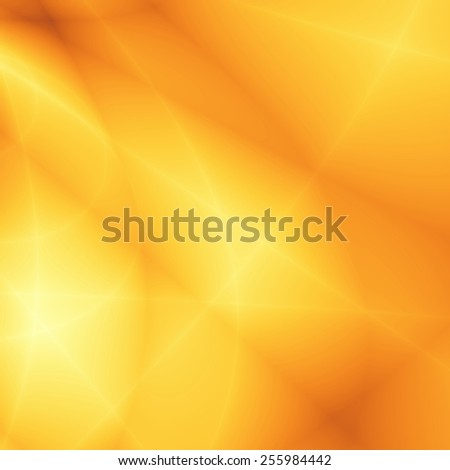Golden wallpaper abstract bright sunny design - stock photo