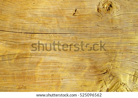 Golden Wood Texture for Background