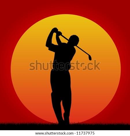 golf 2 - stock photo