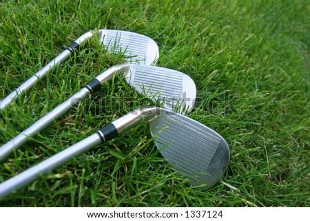 Golf Club Choices - stock photo