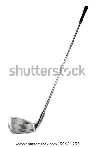 Golf club on white background - stock photo