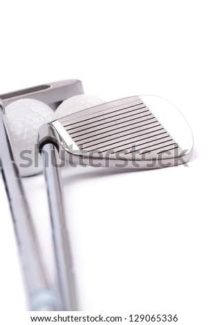 Golf Equipments - stock photo