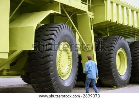 Goliath - stock photo