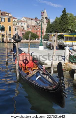 Gondola, Venice, Veneto, Italy - stock photo