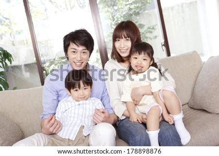 Good friend family - stock photo