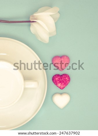 Good morning my love - stock photo